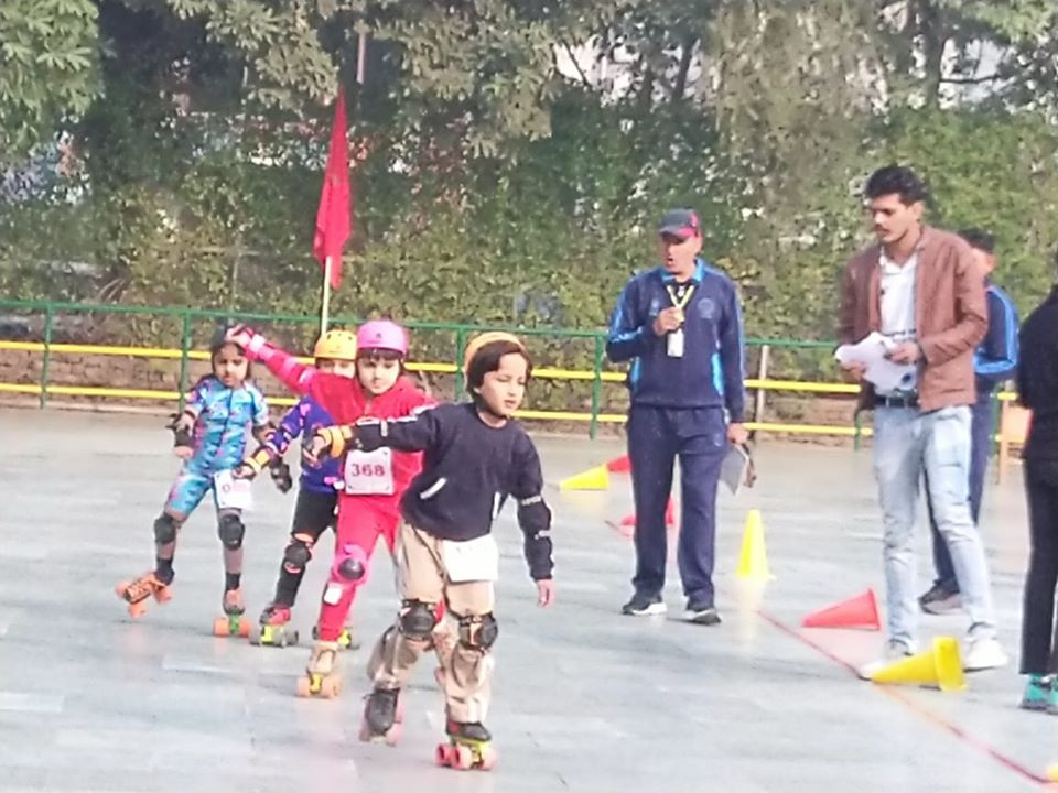 15th Inter School Roller Skating Championship (U-6 category) at Amity International School, Sec 43