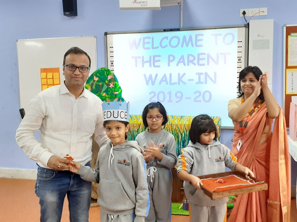 Parent Walk-in programme for the junior primary wing